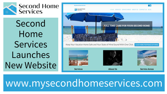 Second Home Services WEbsite Launch & home services included